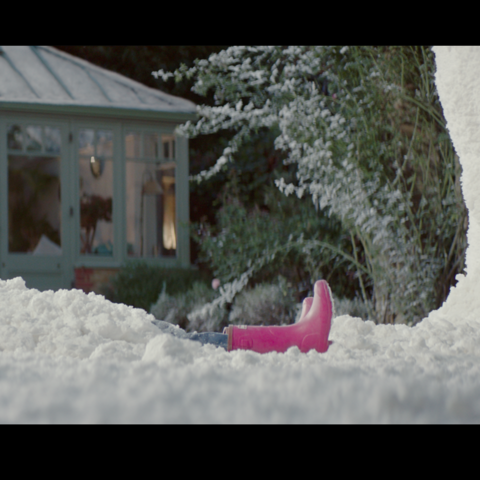 Barbour x The Snowman | Christmas ad Screen Shot 2018-11-04 at 19.22.33