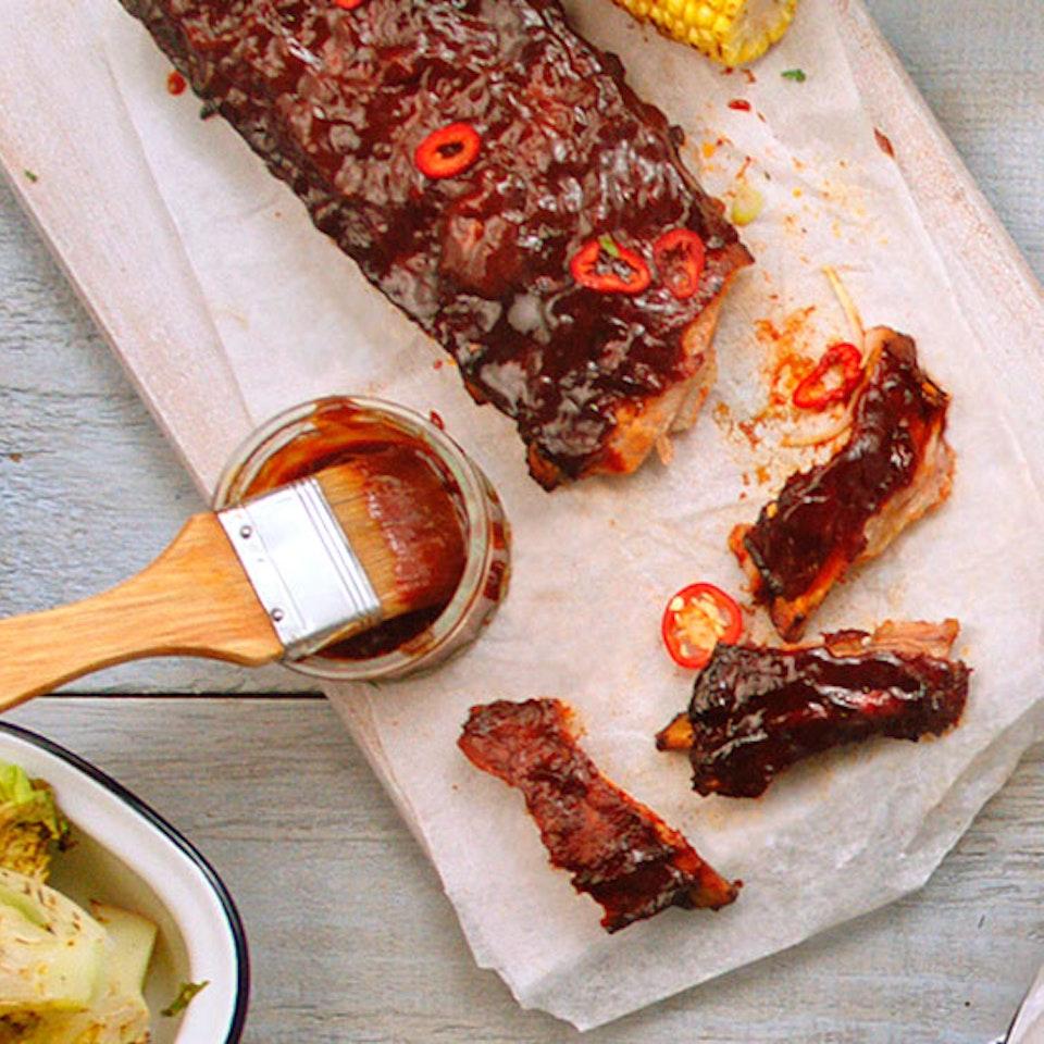 ASDA | 'Food of the World' pork-ribs