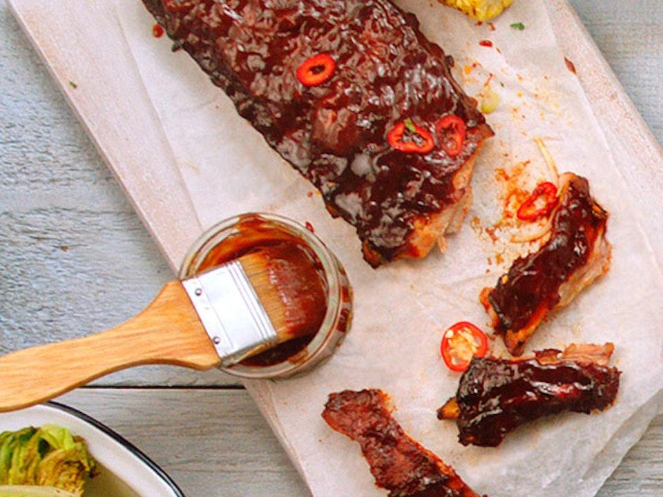 ASDA | 'Food of the World' - pork-ribs