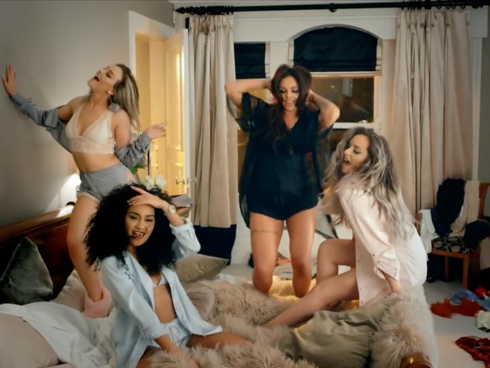 Little Mix ft. Sean Paul | 'Hair' - Screen Shot 2017-08-09 at 16.00.40