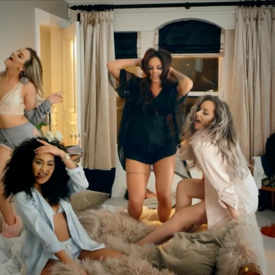 Little Mix ft. Sean Paul | 'Hair' Screen Shot 2017-08-09 at 16.00.40