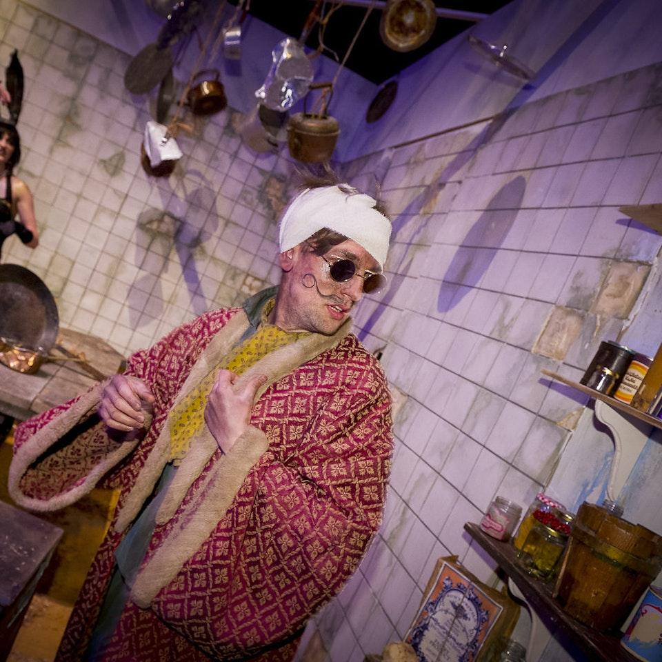 Alice's Adventures Underground ALICE ACTORS PANTRY