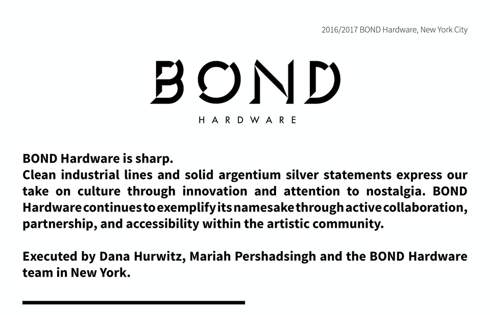 BOND Hardware -