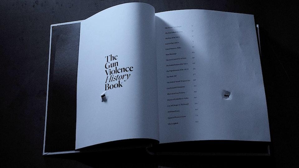 Gun Violence History Book | PSA Screenshot 2019-09-05 17.44.45