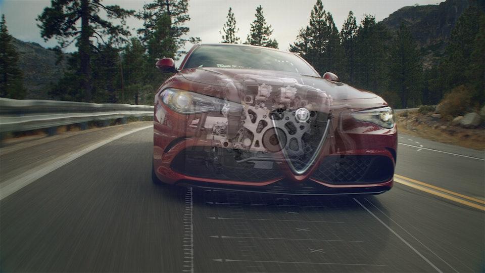 Alfa Romeo | Giulia Quadrifolgio Engine