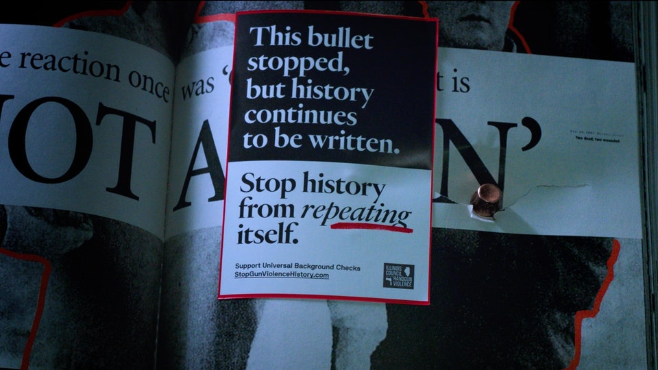 Gun Violence History Book | PSA Screenshot 2019-09-05 17.46.03