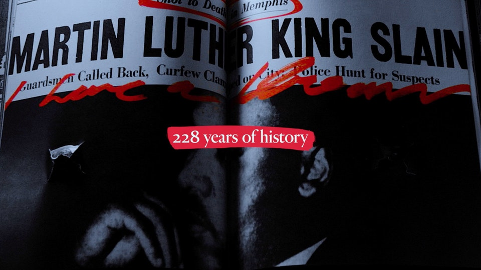 Gun Violence History Book | PSA Screenshot 2019-09-05 17.45.07