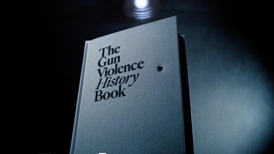 Gun Violence History Book | PSA Screenshot 2019-09-05 17.44.14
