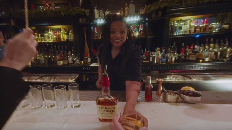 DIRTYLENSES - Maker's Mark   180°   Old Fashioned Holiday