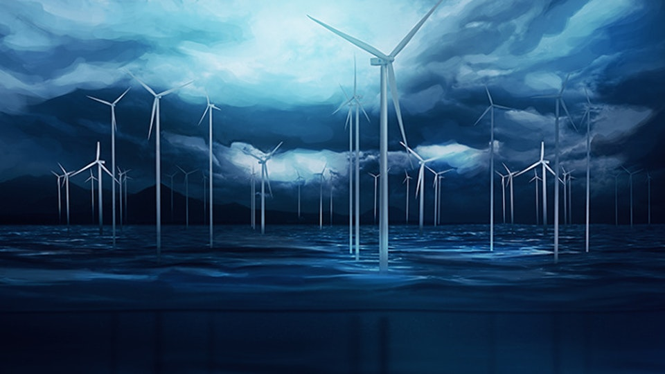 General Electric | Minds + Machines WindFarm_KeyArt_WIP_1500