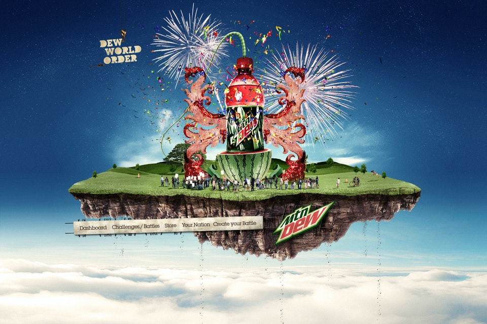Horses & Mules - Mountain Dew - Dew World Order