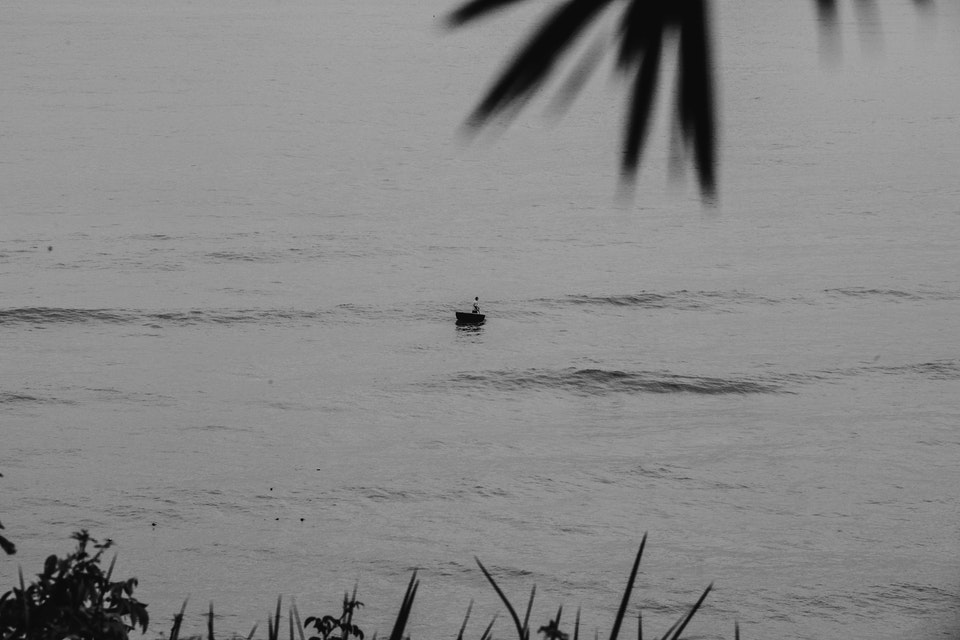 Vietnam by Dirtbike - 2013 rowboat