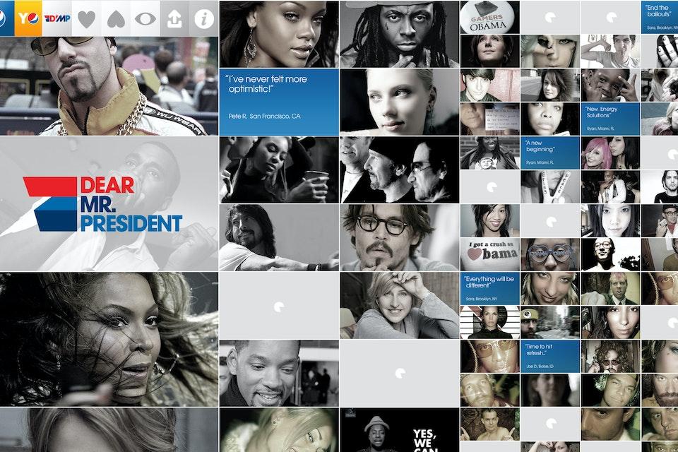 Horses & Mules - Pepsi - Dear Mr. President