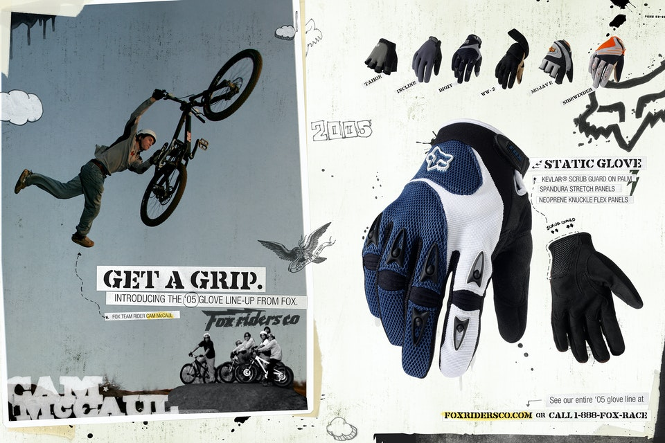 Fox Riders Co - Fox MTB '05 fx_glove_bk
