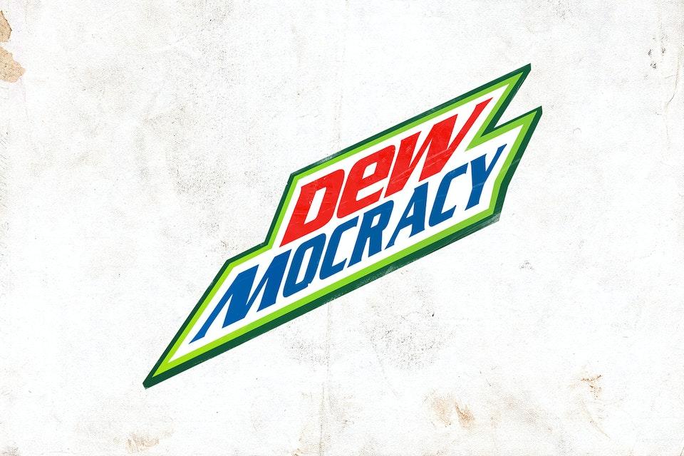 Mountain Dew - Dewmocracy 04_textured background A