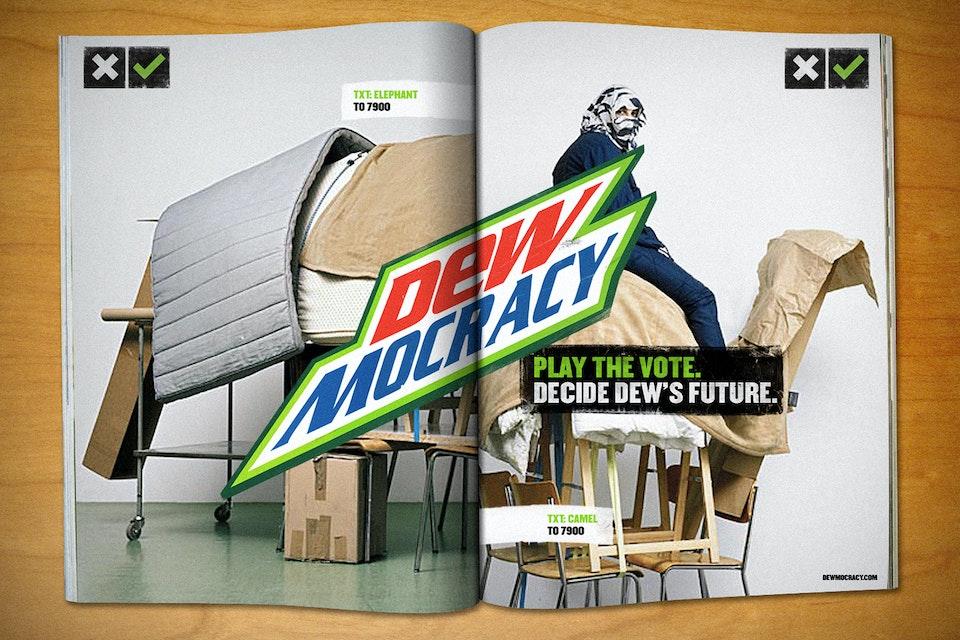 Mountain Dew - Dewmocracy Spread_Mag_Furniture