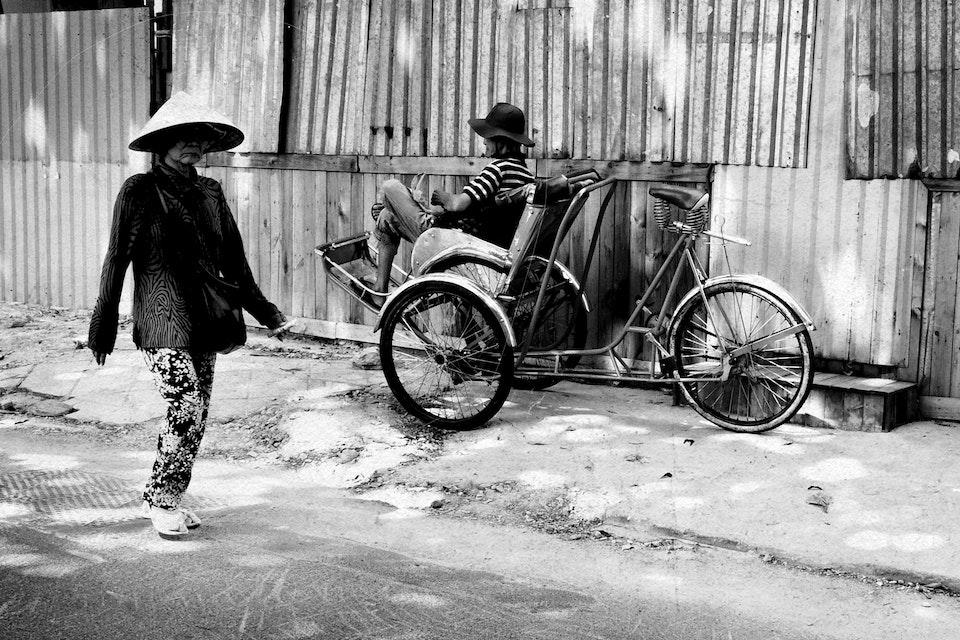 Vietnam by Dirtbike - 2013 oldlady
