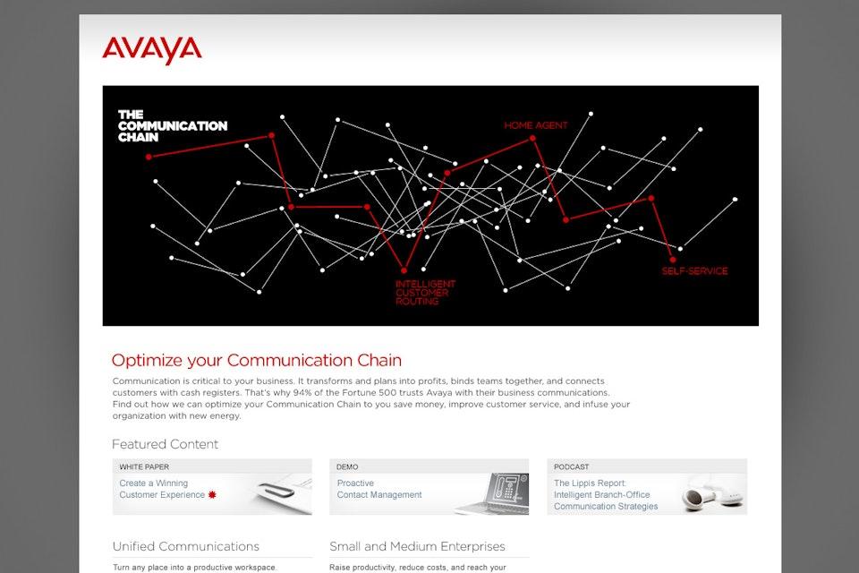 Avaya - The Communication Chain Avaya_07
