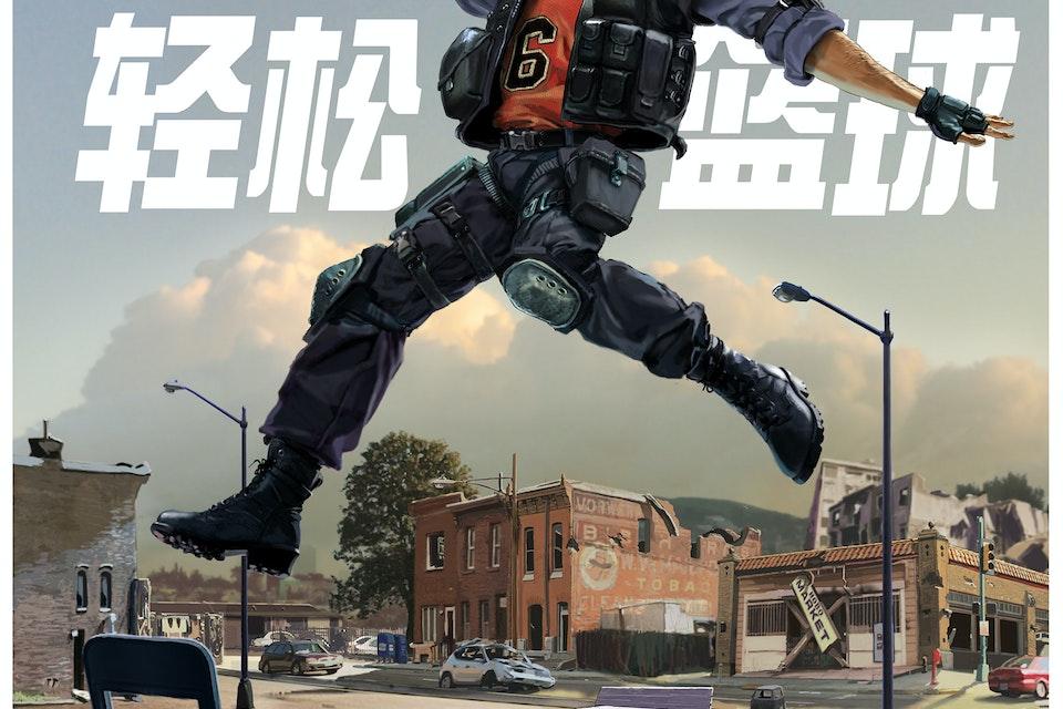 NBA2K 中国 - The Official Game of the Gaming World KV2_Dunker_Final