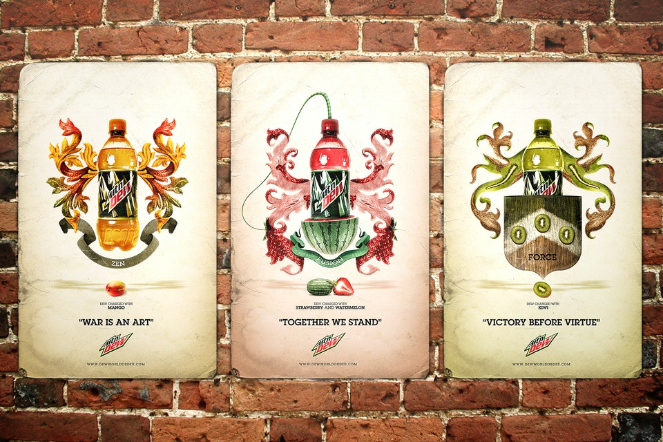Mountain Dew - Dew World Order wall_poster