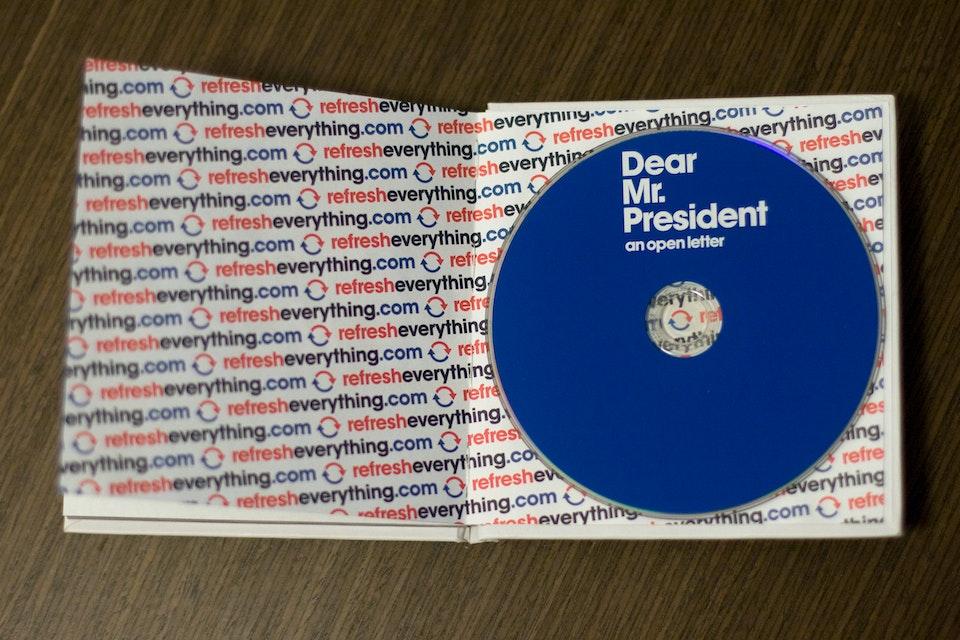 Pepsi - Dear Mr. President back