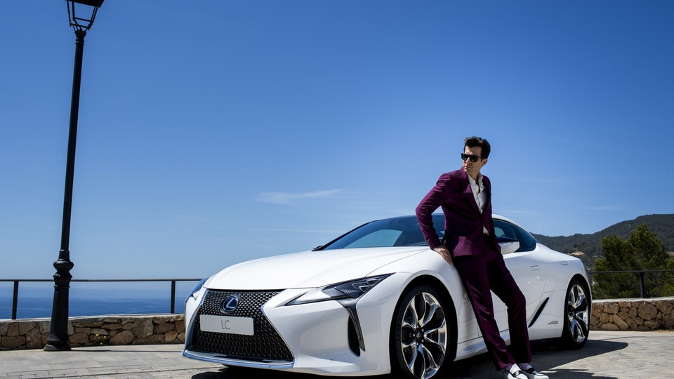"Lexus ""Make Your Mark"" BTS"