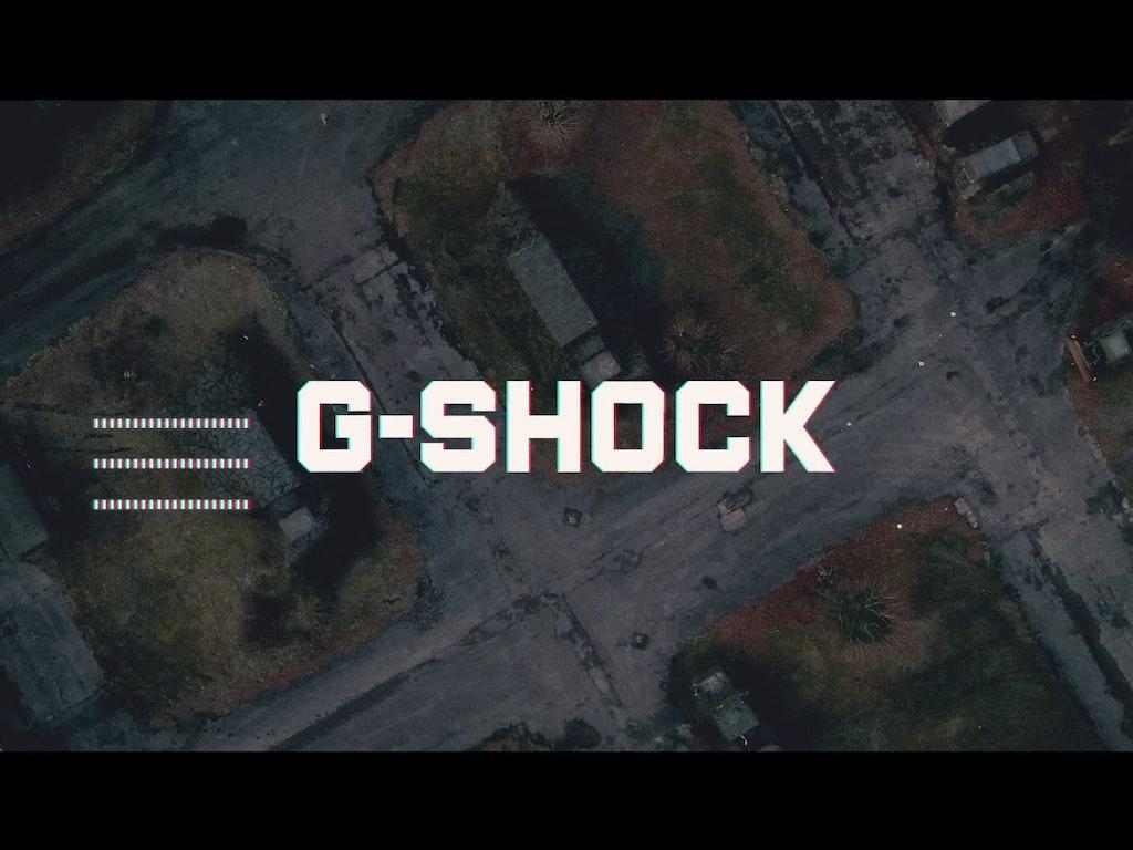 G-SHOCK MUDMASTER COMMERCIAL