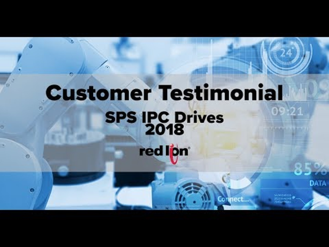Customer Testimonials from SPS IPC Drives - Reliste, GmbH