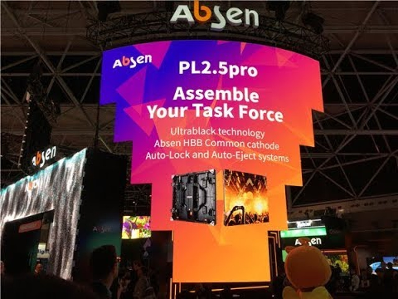 Roundup video of Absen at ISE 2019