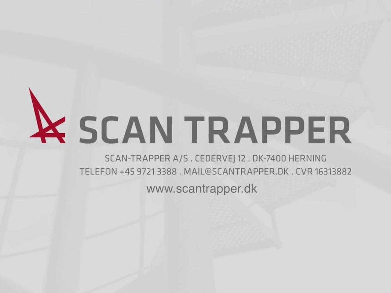 Scantrapper - Montagevejledning