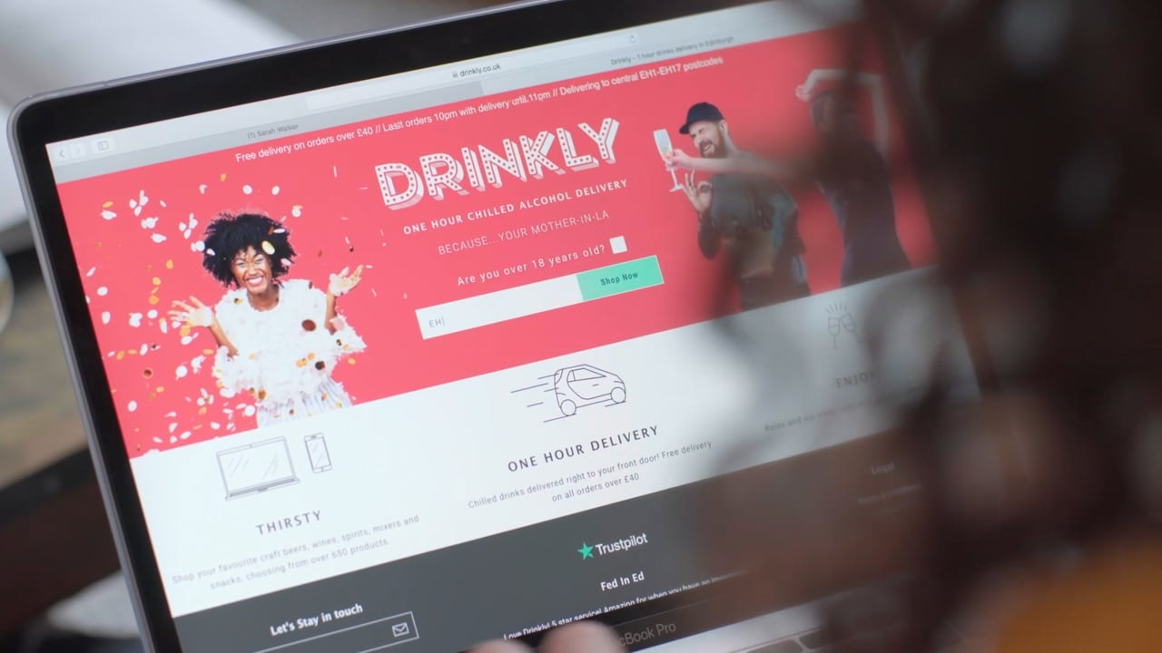 Drinkly - 'Friendship Goals' - Branded Content