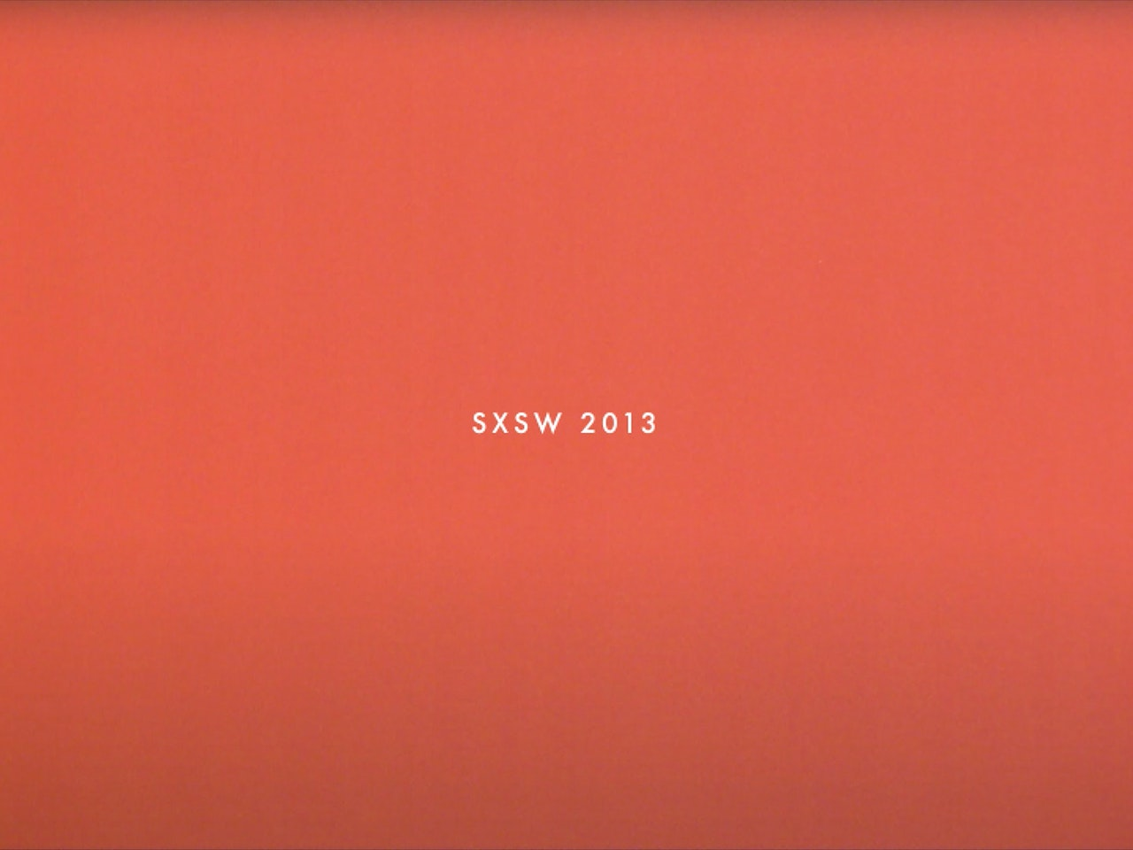 New Work: Tango In The Attic // SXSW2013