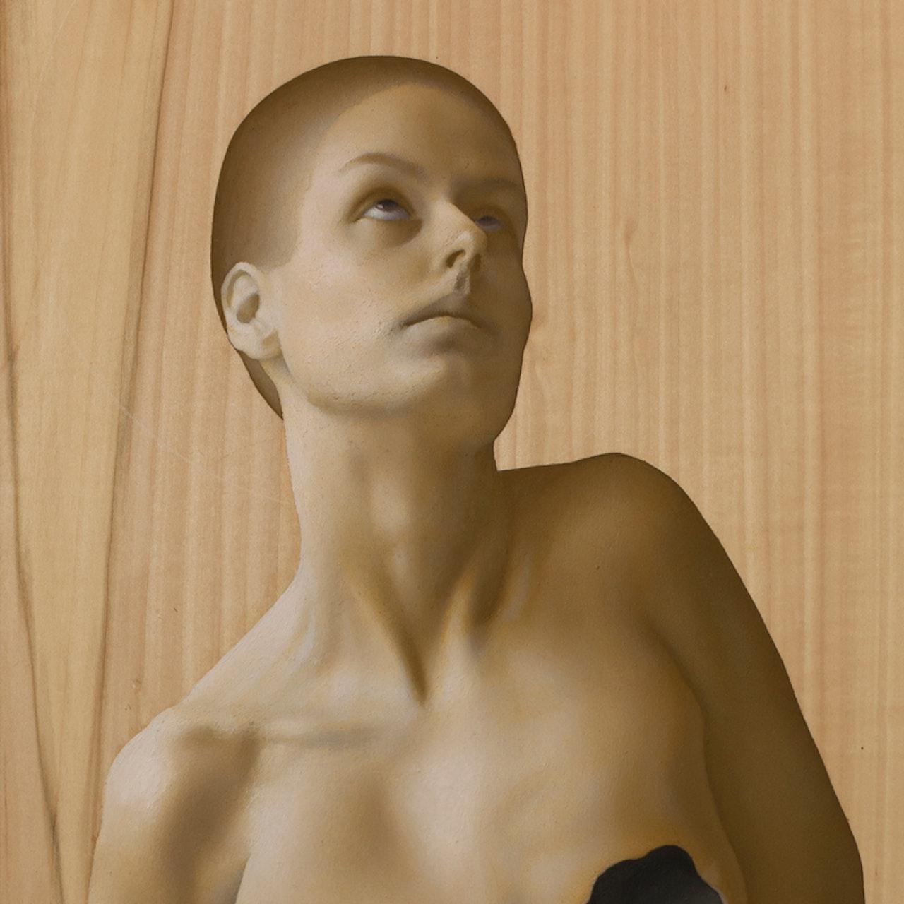 St. Agatha with breast cut off