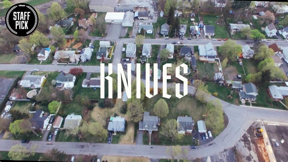 Jason Koxvold: KNIVES