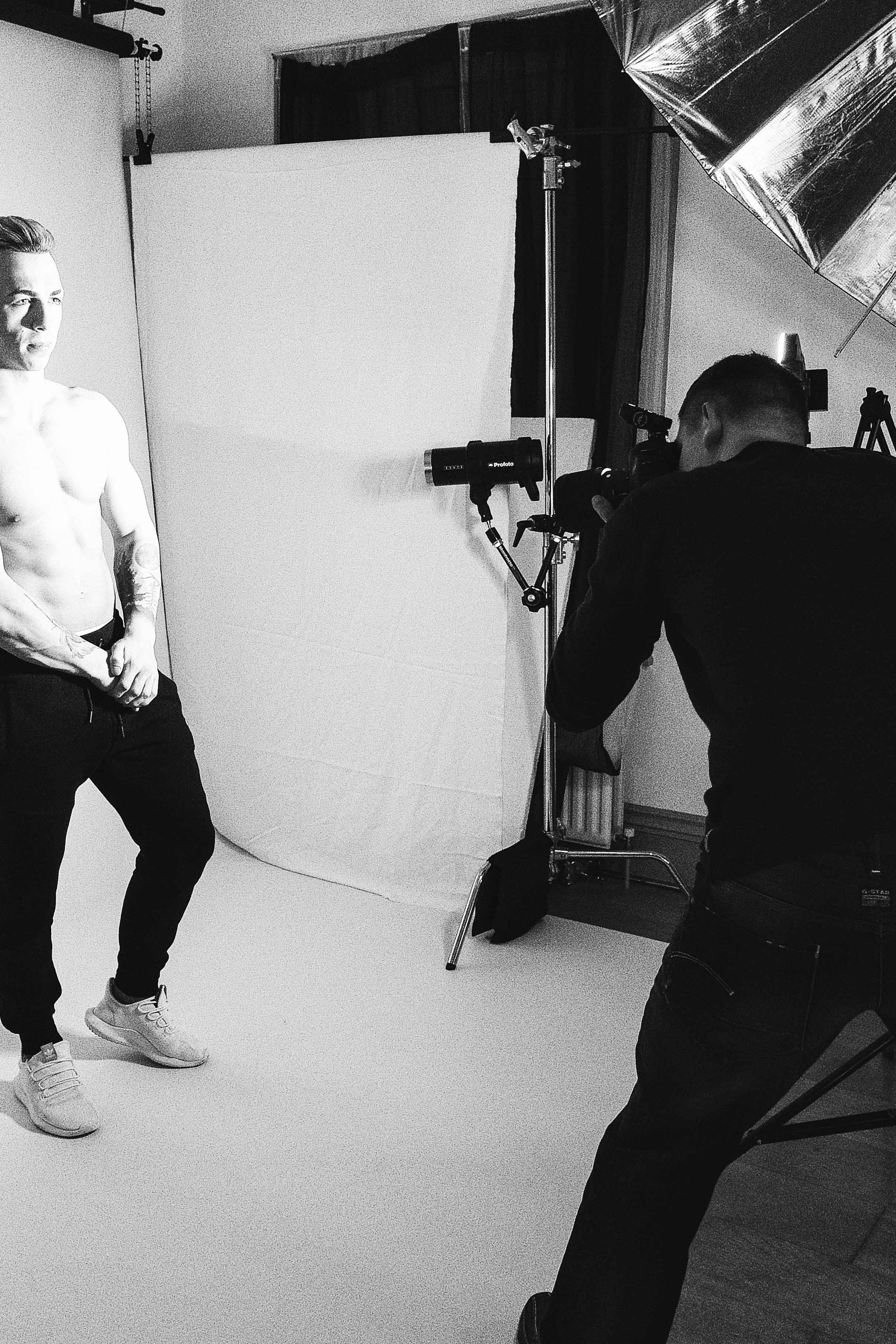 Test Shoot : Behind The scene