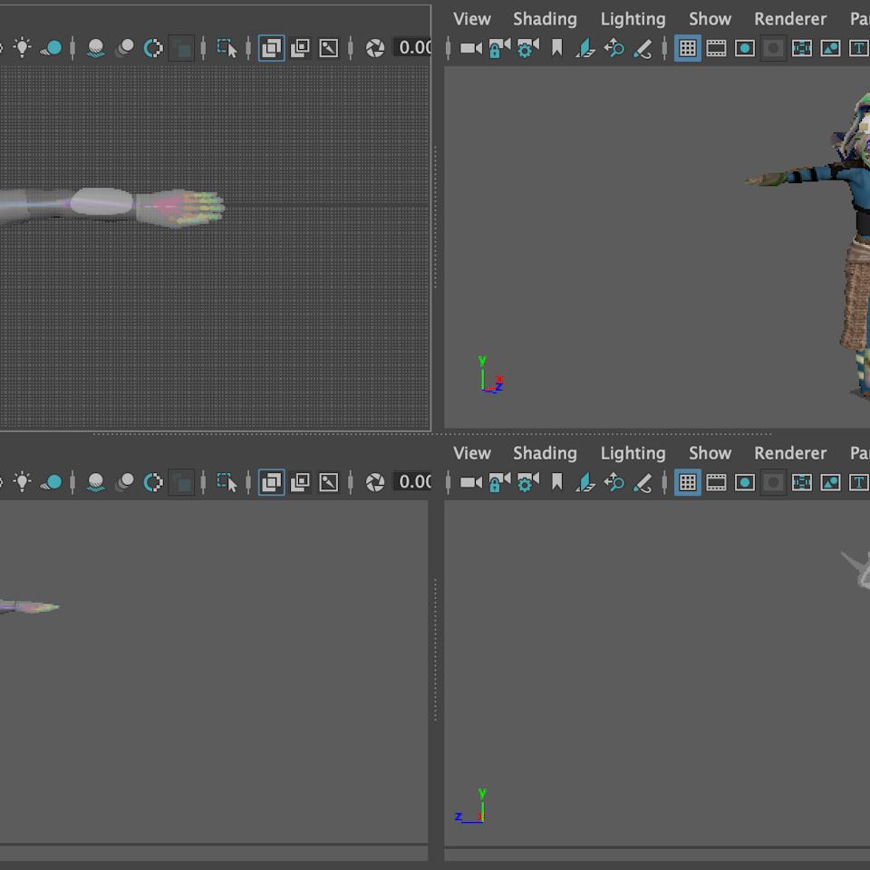 3D character design Screenshot 2019-08-20 at 22.06.06