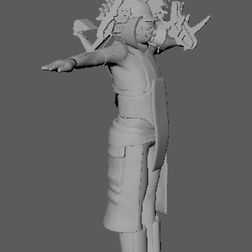 3D character design Screenshot 2019-08-20 at 22.12.56