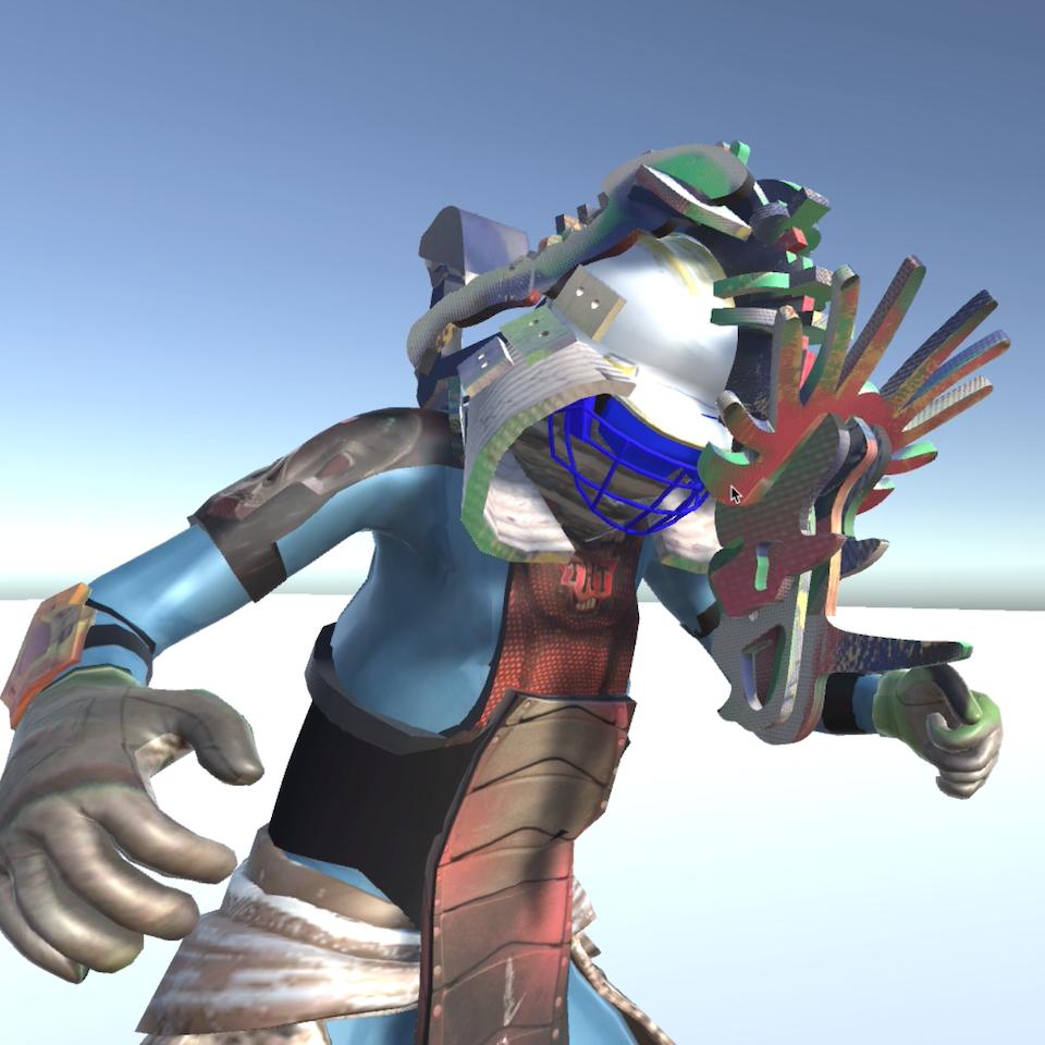 3D character design Screenshot 2019-08-20 at 23.36.39