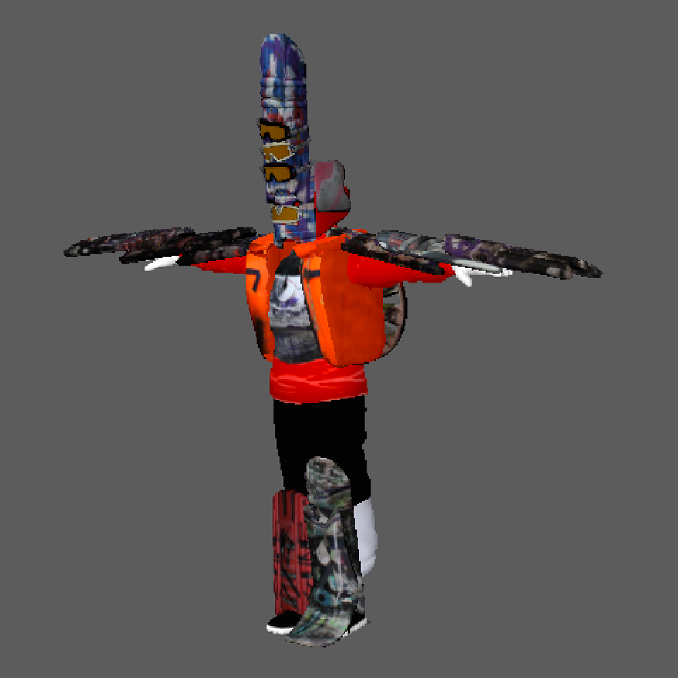 3D character design Screenshot 2019-08-20 at 23.11.43