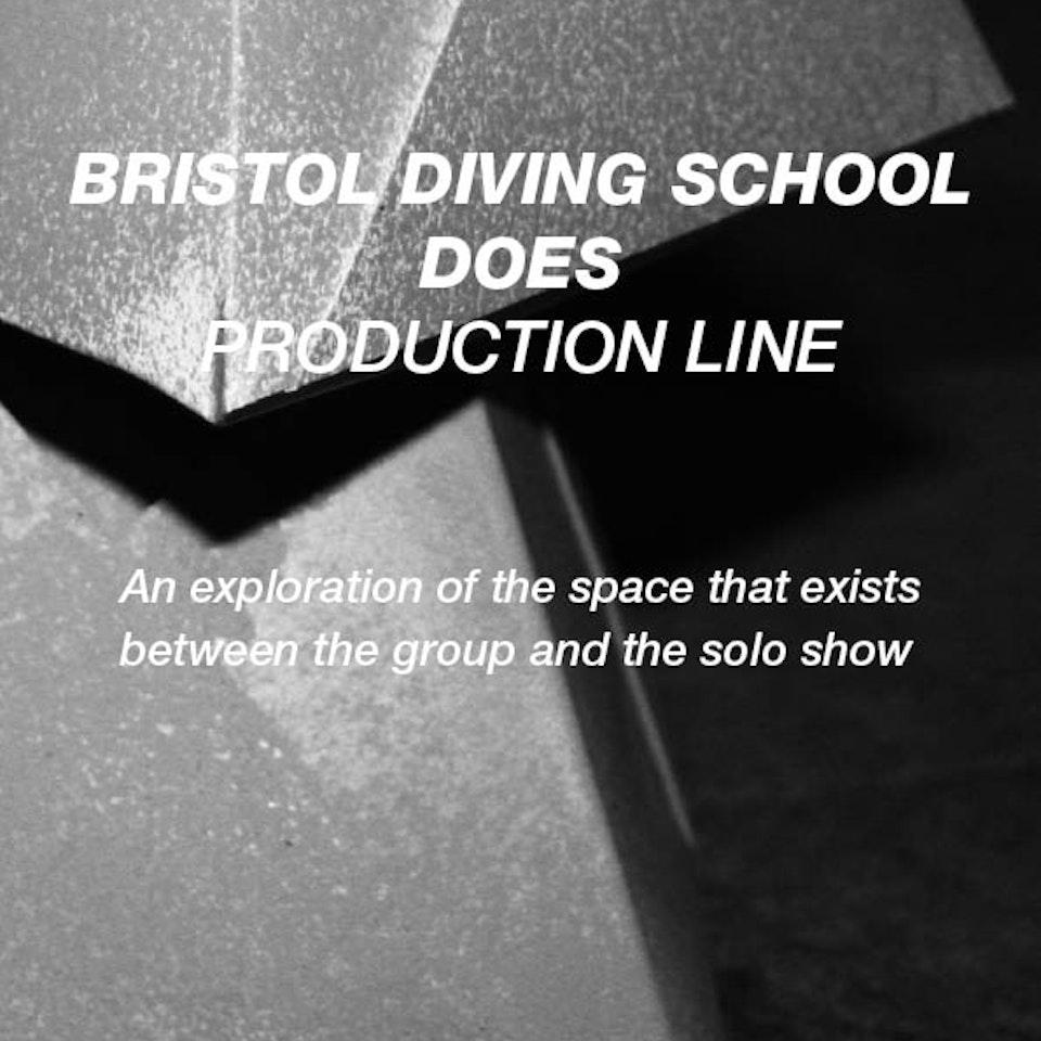 Bristol Diving School production-line-poster