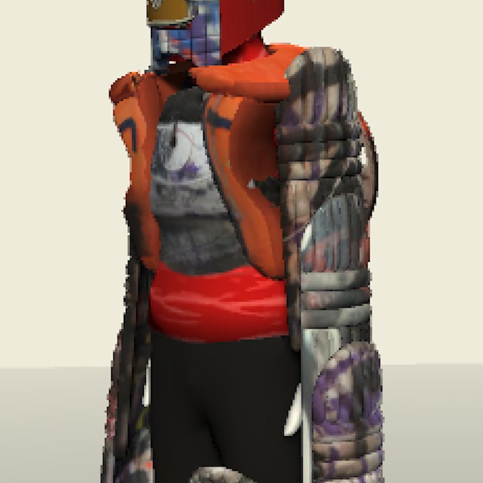 3D character design Screenshot 2019-08-03 at 14.34.27