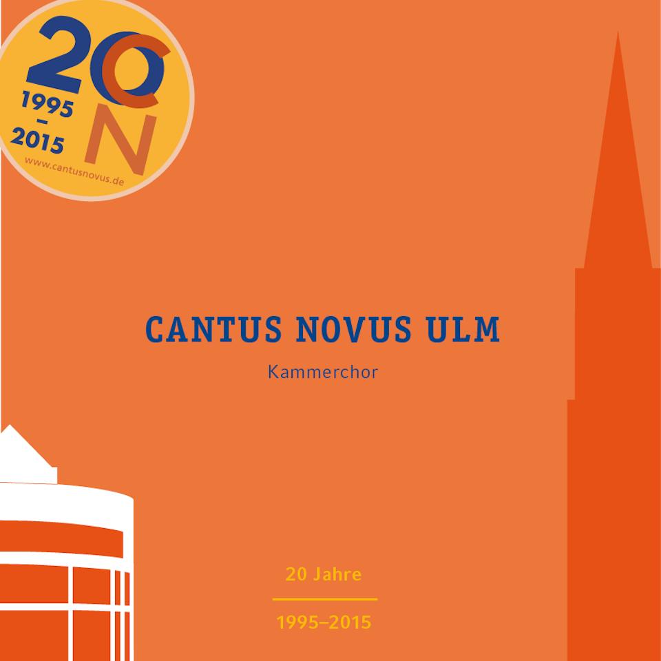 Cantus Novus Ulm - Weltliches Jubiläumskonzert