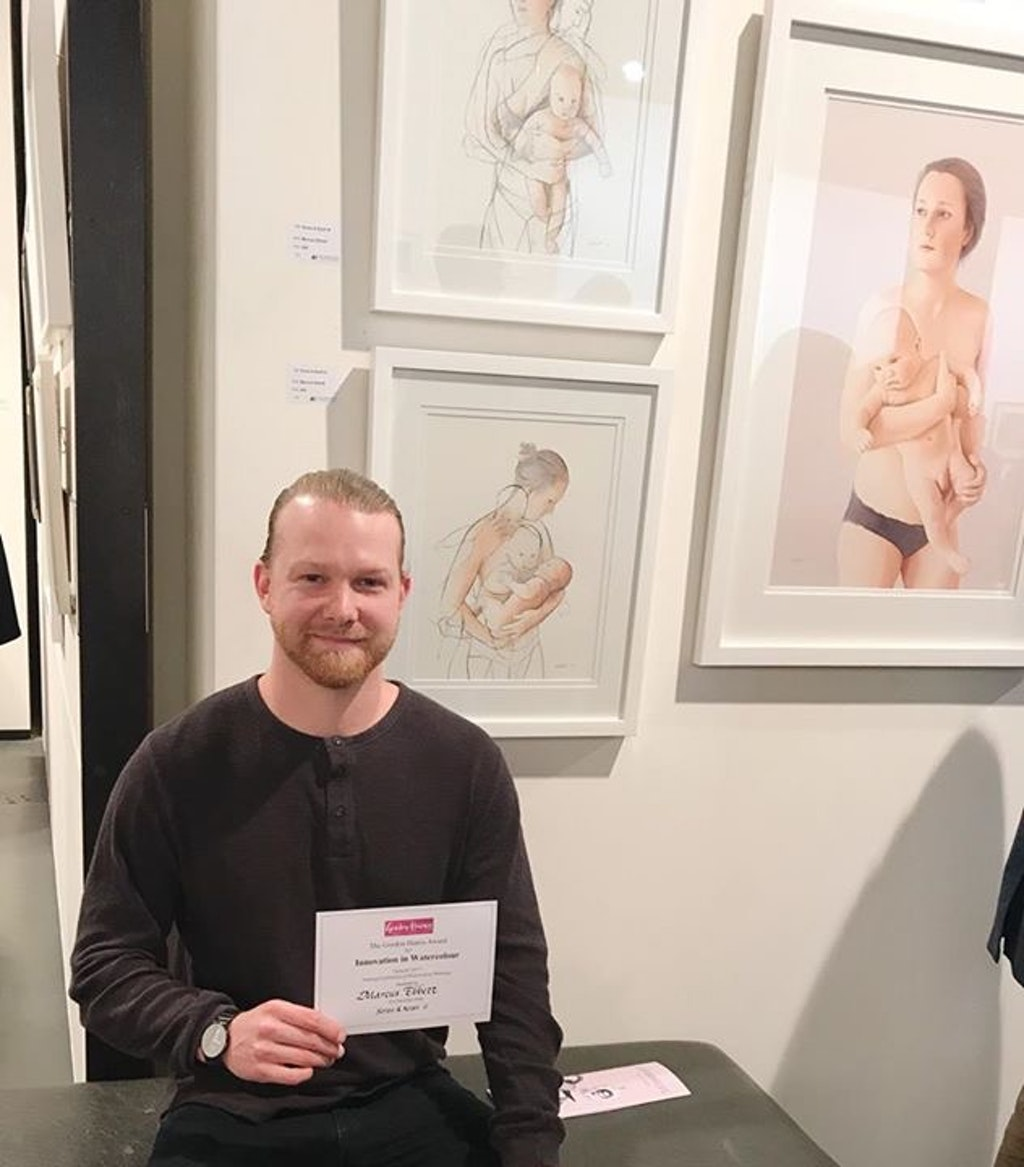 Innovation in Watercolour' Award 2017