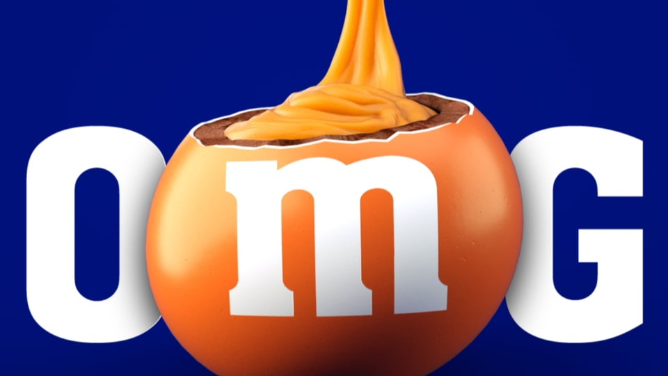M&Ms CARAMEL LAUNCH