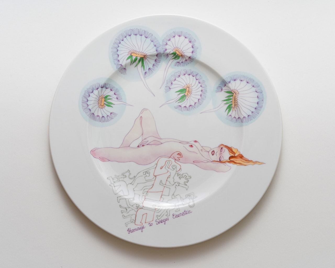 """Update: New Edition """"Society of clean plates"""". Ø 27 cm"""