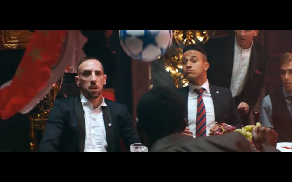 BT Sport: Champions League House Party ft׃ Bale, Luiz, Ribery, Van Persie, Gerrard