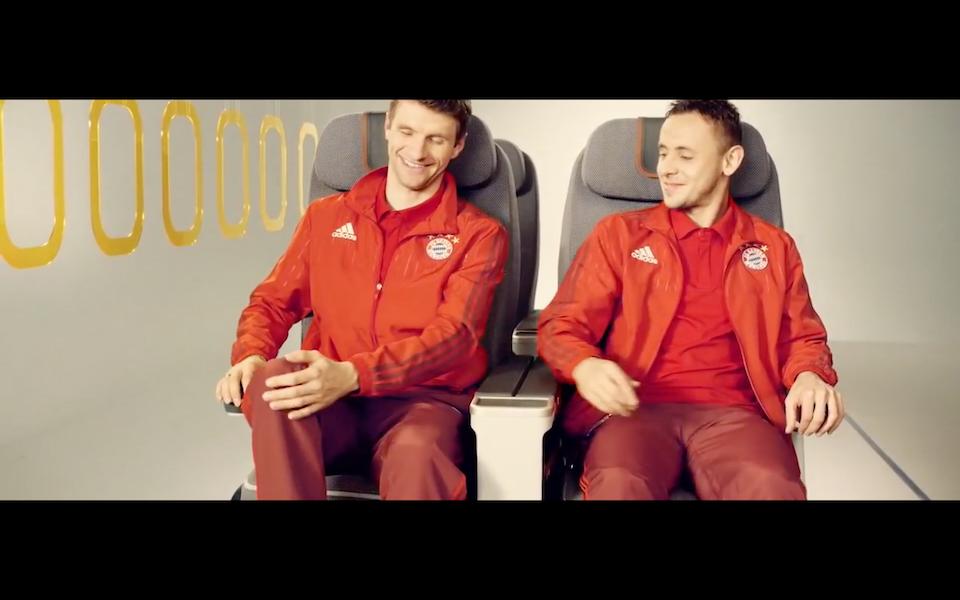 FC Bayern München - perfekt trainiert auf jedem Platz | Lufthansa