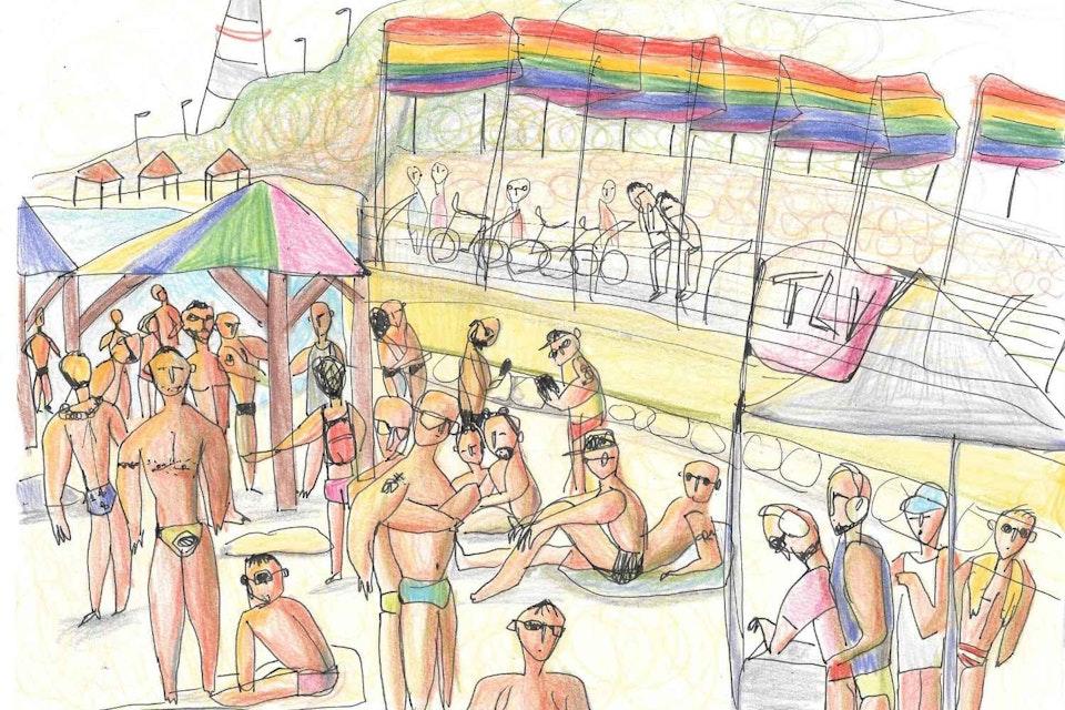 Einat Aloni - Pride at Hilton Beach