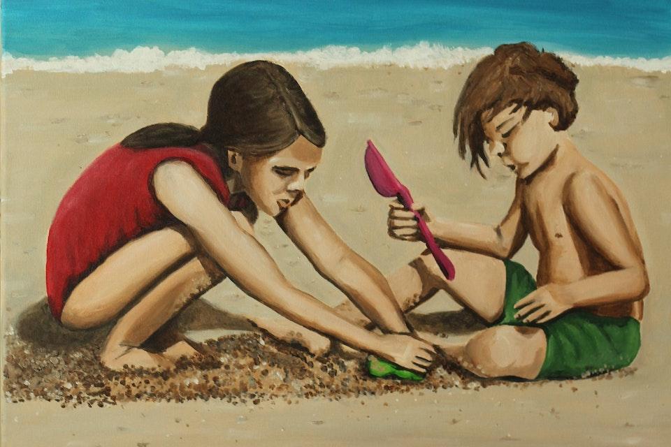 Einat Aloni - In the Beach