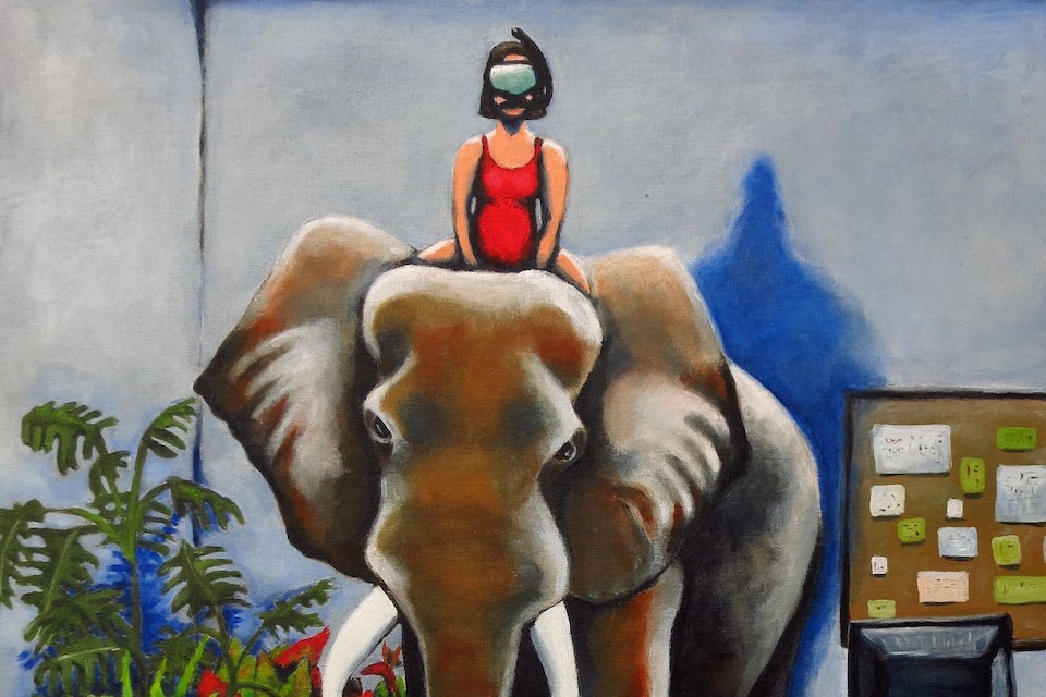 Einat Aloni - Elephant
